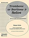 img - for Hasse Suite: Trombone Solo with Piano - Grade 4 book / textbook / text book