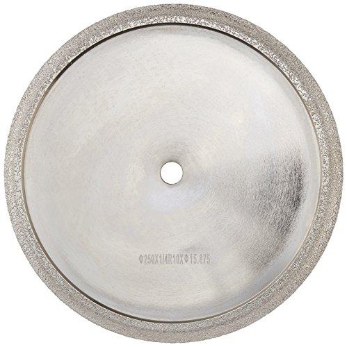 Toolocity PWBT0100  10-Inch Diamond Profile Wheel for Marble /Granite Tile 3/8-Inch Radius (Tile Profile Blade compare prices)
