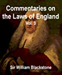 Commentaries on the Laws of England,...