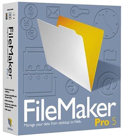 FileMaker Pro 5