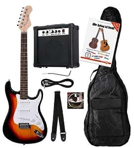 Rocktile Banger's Pack Set guitare électrique 7 pièces (Sunburst)