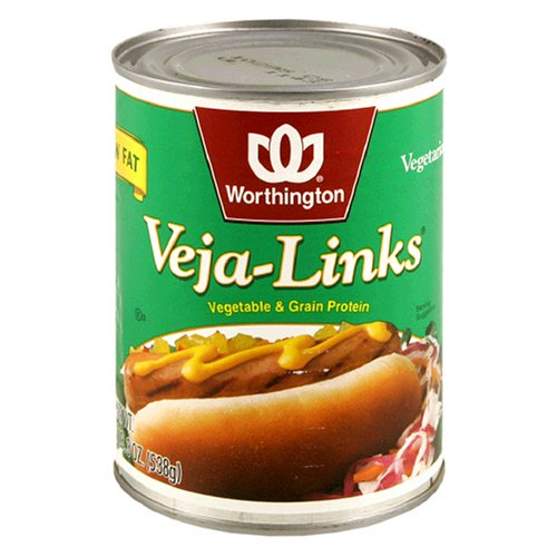 Worthington Veja-Links, Low Fat, 19-Ounce Cans (Pack of 12)
