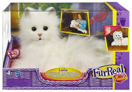 Hasbro 899871010 fur real peluche interactive moustache mon chat your 1 source for - Moustache mon chat hasbro ...