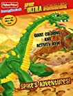 Fisher Price Spike the Ultra Dinosaur Color Book 2: Spike's Adventures