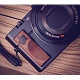 Premium Wood Hand Grip For Sony Rx100 And Rx100 M Iii And Ii By J.B. Camera Designs Made In Usa