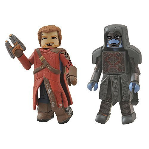 Marvel Minimates Guardians of the Galaxy 2 inch Figures - Star Lord & Ronan