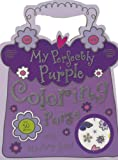 My Perfectly Purple Purse Mini Coloring Book (1780657501) by Make Believe Ideas