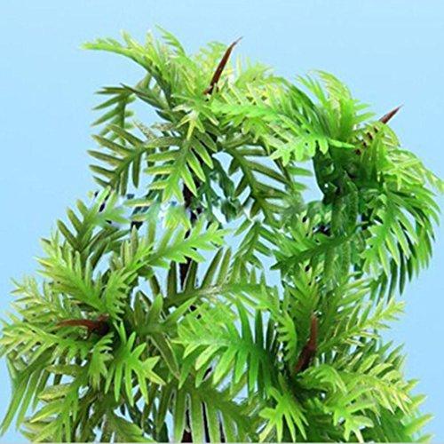 Aquarium artificielle d coration aquarium arbres de noix de coco pour aquarium non toxique en - Arbre noix de coco ...