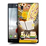 Head Case Music Power Of Books Hard Back Case Cover For Lg Optimus L9 P760 P768