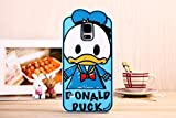 Cute Disney Cartoon Silicone Soft Back Mobile Phone Case Cover for Samsung Galaxy S5 I9600 (Donald Duck)
