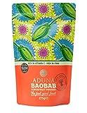 Aduna 非加熱 バオバブスーパーフルーツパウダー (Baobab Fruit Pulp Powder) 275g