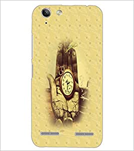 PrintDhaba Antique Watch D-4693 Back Case Cover for LENOVO VIBE K5 PLUS (Multi-Coloured)