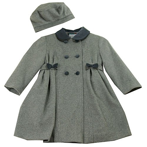 Buy Low Price Rothschild Girls Wool Bow Coat & Beret, a Girls Coat at Affordable Price