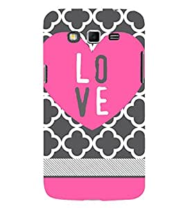 Love Girly 3D Hard Polycarbonate Designer Back Case Cover for Samsung Galaxy Grand Neo :: Samsung Galaxy Grand Neo i9060