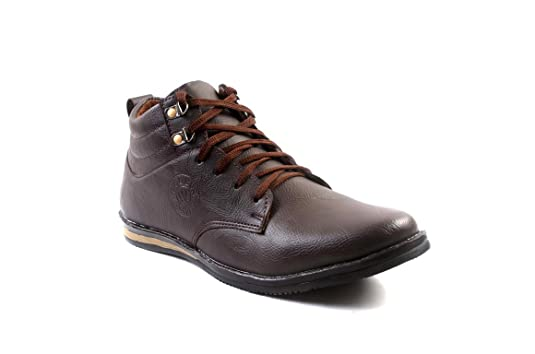 bb4625f294d Woodbury Brown Ankle Shoes available at Amazon for Rs.499
