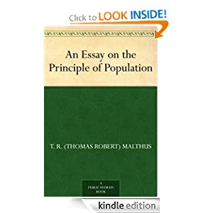 Logo for An Essay on the Principle of Population