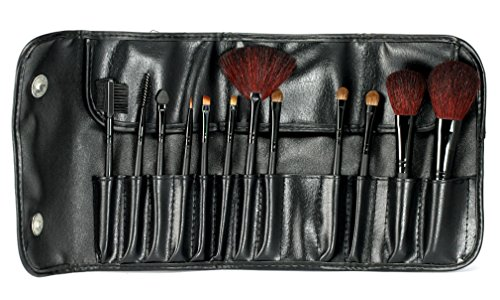 12pcs-Black-Case-Cosmetic-Make-Up-Brushe-Makup-Kit-L112