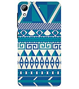 Chiraiyaa Designer Printed Premium Back Cover Case for HTC Desire 628 (pattern old style) (Multicolor)
