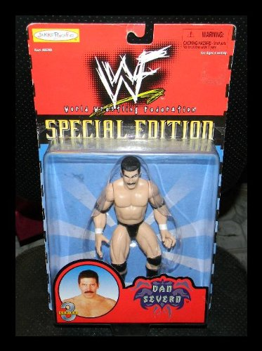 WWF Special Edition Series 3 Dan Severn by Jakks Pacific 1997 - 1