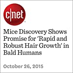 Mice Discovery Shows Promise for 'Rapid and Robust Hair Growth' in Bald Humans   Michael Franco