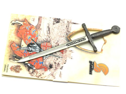 Schwert Excalibur Toledo Spanien auch ideal als Dekoschwert oder Brieföffner