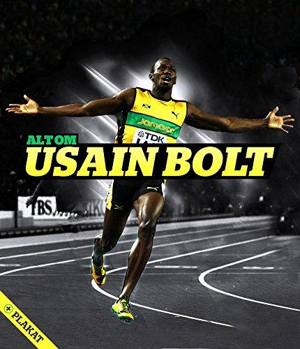 Usain Bolt (14x16 inch, 35x41 cm) Silk Poster Seta Manifesto PJ14-3B36