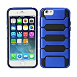 TeckNet® New Apple iPhone 6 Plus Protective Tough Armor Case For Apple iPhone 6 Plus, 5.5 inch, Sep 2014 Release - Blue