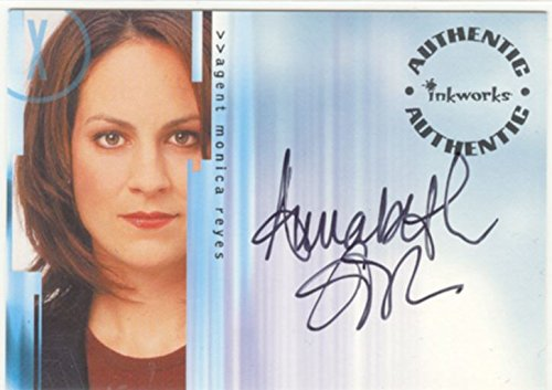 Autograph 8 X Files stagione, A12 Annabeth Gish come agente Monica Reyes