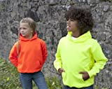 Just Hoods By AWDis Kids Electric Hoodie Electric Pink L - (9/11 Years)