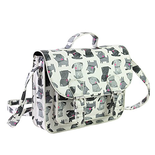 bjx-kids-dog-print-crossbody-satchel-bag