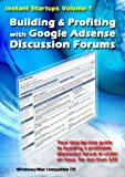 Building & Profiting With Google Adsense Discussion Forums