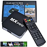 MXPRO MX Android 4.2 Jelly Bean Quad Core Streaming Mini HTPC TV Box HD Media Player with IR Remote Control AV LAN 1G 8GB 1080P YOUTUBE FULLY LOADED