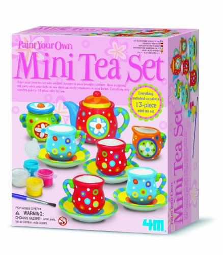 4M Kidz Labs Tea Set Painting Kit UK Import