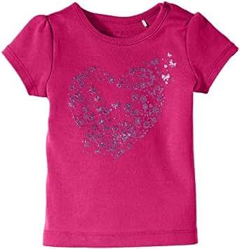 Esprit 024EEAK001 - T-shirt - Bébé fille - Rose (Fushia) - FR: 3 mois (Taille fabricant: 62)