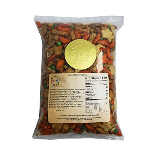 FirstChoiceCandy Oriental Rice Crackers 2 Pound Bulk Bag (Asian Rice Candy compare prices)