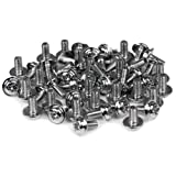 StarTech.com SCREWM3 M3 x 1/4-Inch PC Mounting Computer Screws Long Standoff, 50-Pack