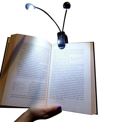 book reading light bed kindle night neck portable clip on. Black Bedroom Furniture Sets. Home Design Ideas