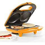 Holstein Housewares HF-09002O Fun 2-in-1 Multi-Maker - Orange