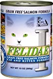 "Brand New CANIDAE PET FOODS - FELIDAE GRAIN FREE SALMON (12/13OZ) ""OTHER PET FOODS - CANIDAE CAT CAN"""