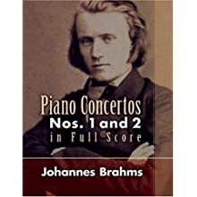 Piano Concertos Nos. 1 and 2 in Full Score 勃拉姆斯第...