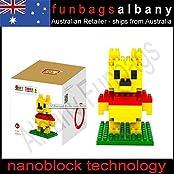 Winnie The Pooh Loz Diamond Nano Micro Blocks Mini Building Block Poo Bear /Item# G4 W8 B 48 Q42222