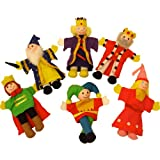 Bigjigs Toys Royalty Finger Puppets