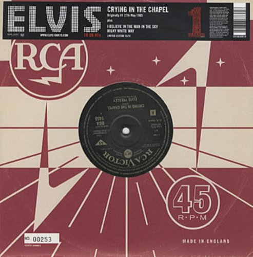 Elvis Presley - Crying in the Chapel - Zortam Music