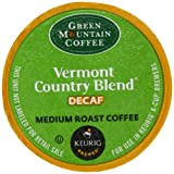 Green Mountain Coffee, Vermont Country Blend Decaf Medium Roast K-Cup Portion Pack for Keurig Brewers (Pack of 50)