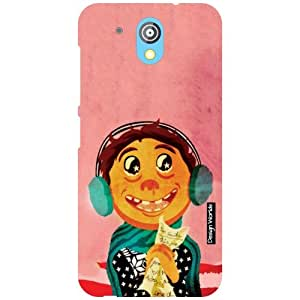 Design Worlds HTC Desire 526G Plus Back Cover - Cartoon Designer Case and Covers