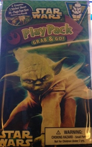 Star Wars Yoda Play Pack Grab and Go - 1