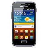 Samsung GT-S7500 Galaxy Ace Plus - Unlocked Phone - International Version - Dark Blue