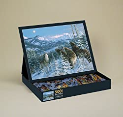 Hunter's Moon 500 Piece Jigsaw Puzzle