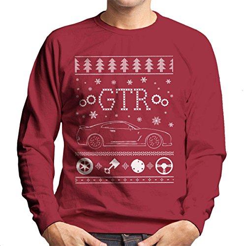 nissan-gtr-christmas-knit-mens-sweatshirt