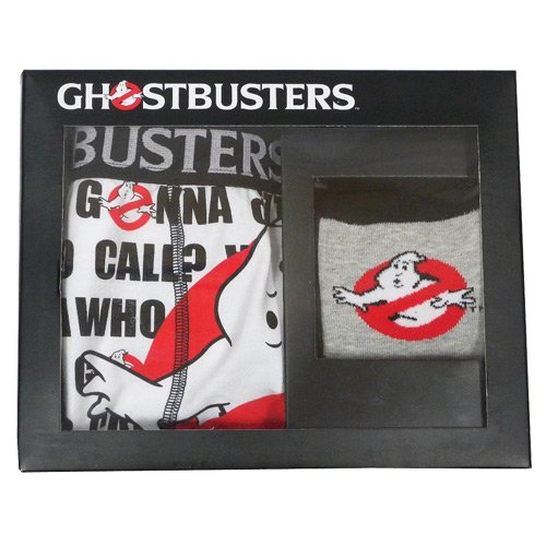 GHOSTBUSTERS BOXER & SOCK SET - MEDIUM